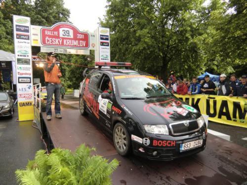 Rally Český Krumlov 2011