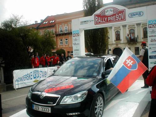 Rally Prešov 2011