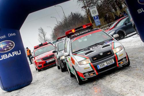 Pražský rallysprint 2018