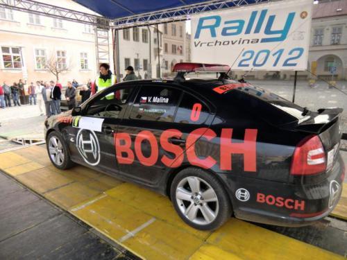 Rally Vrchovina 2012