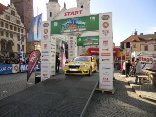 Rally Šumava 2011