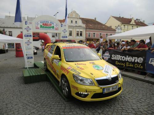 Rally Pačejov 2011