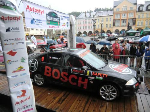 Rally Krkonoše 2012
