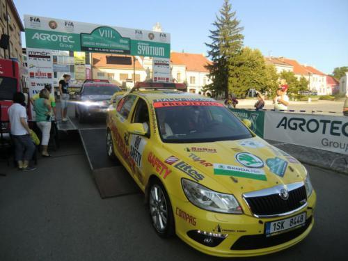 Rally Hustopeče 2012