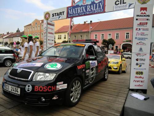 Rally Kostelec nad Orlicí 2012