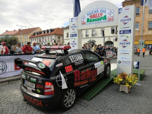 Rally Pačejov 2012