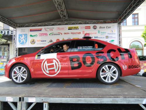 FIVA Oldtimer Bohemia Rally 2016