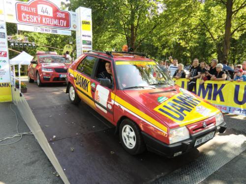 Rallye Český Krumlov 2016