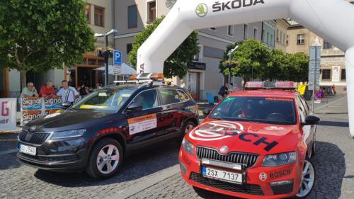 FIVA Oldtimer Bohemia Rally 2018