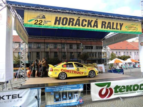 Rally Třebíč 2011